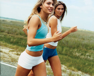 Бег и аэробика против псориаза у женщин